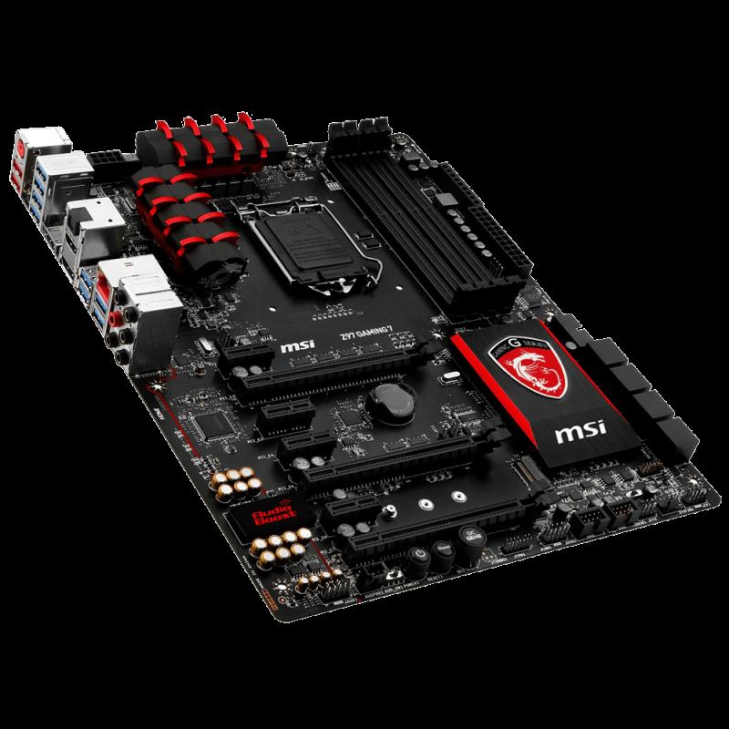 MSI ATX DDR3 2600 LGA 1150 Motherboards Z97